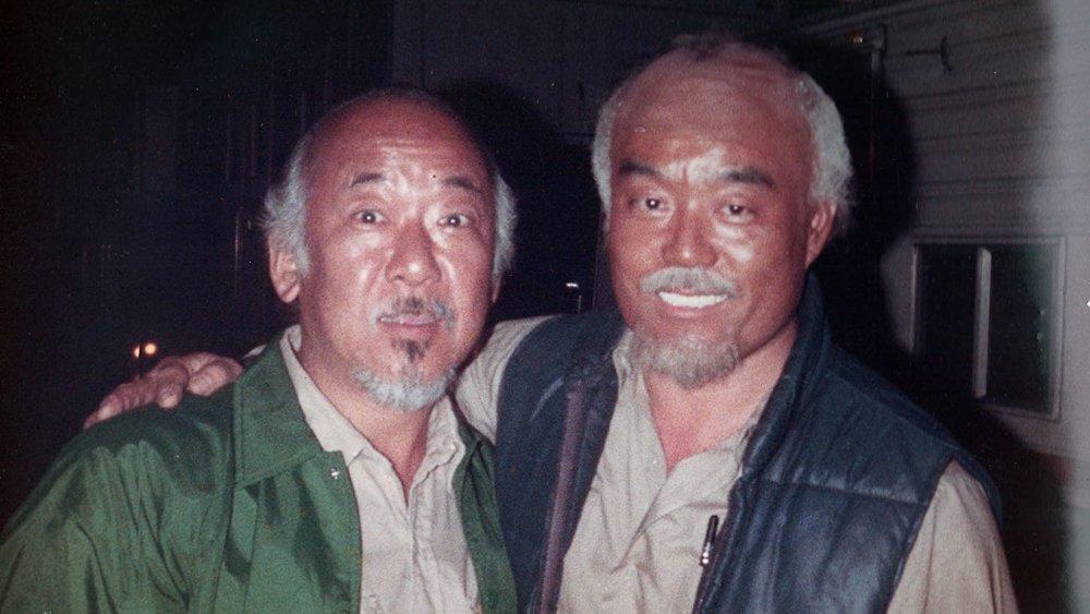 Sensei and Pat Morita